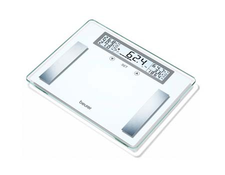 BEURER GLASS DIAGNOSTIC SCALE BG51