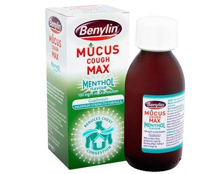 Benylin MUCUS COUGH MAX Menthol Flavour