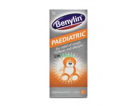 Benylin Paediatric 2+ Cough Syrup