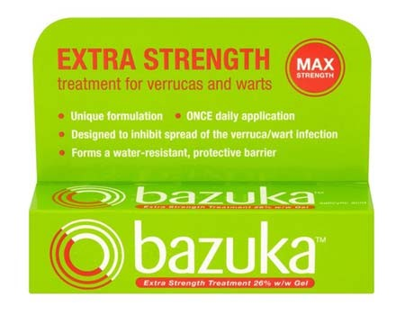 Bazuka Extra Strength for Wart