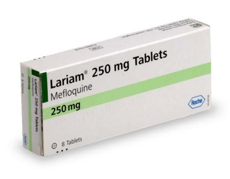Lariam 250mg Meflochina (8 Tablets)