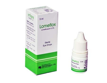 Lomeflox Lomefloxacin 0.3% Eye Drop