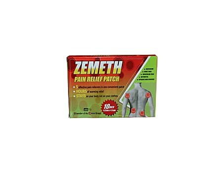Zemeth Pain Relief Patch