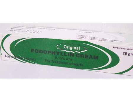 Podophyllin Cream