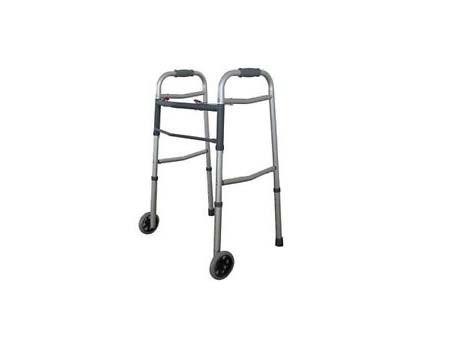 Standard Walker With Tyre - Adult