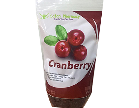 Dried Cranberry Fruit - 500g