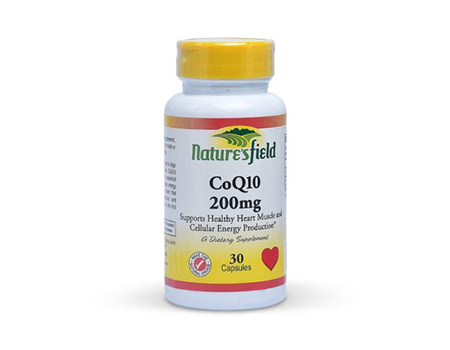 Nature's Field Co Q10 200mg