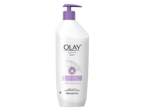 OLAY Quench Shimmer Body Lotion