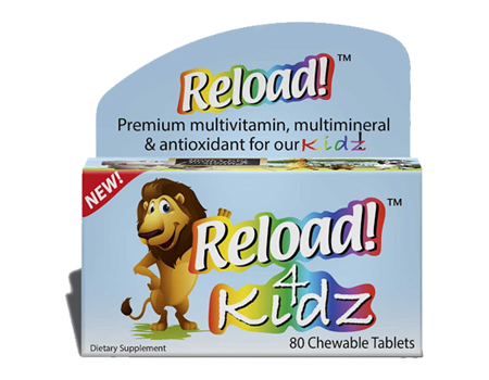 Reload 4 Kids Chewable Multivitamin
