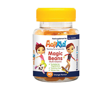 Actikid Magic Beans Jelly Kids Multivitamin