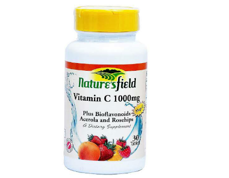 Nature's Field Vitamin C 1000mg (100 tablets)